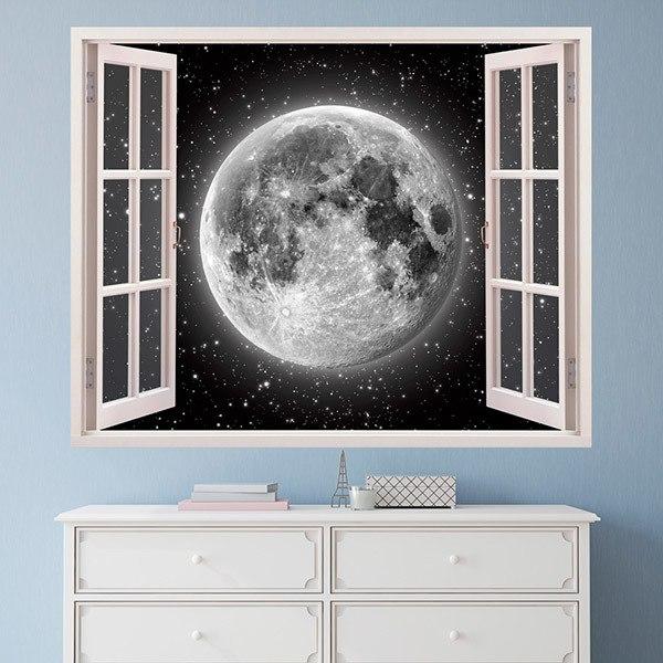 Stickers muraux: Pleine lune