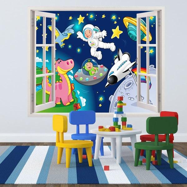 Stickers pour enfants: Espace
