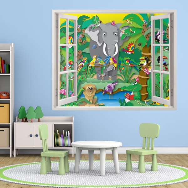 Stickers pour enfants: La Jungle
