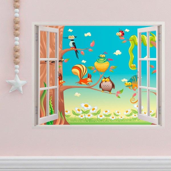 Stickers pour enfants: Dans l arborescence