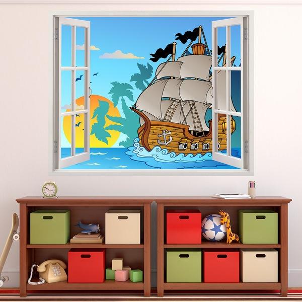 Stickers pour enfants: Pirates