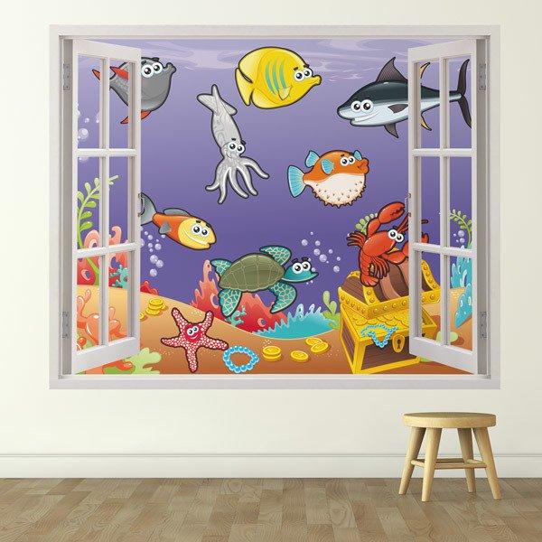 Stickers pour enfants: marine animals