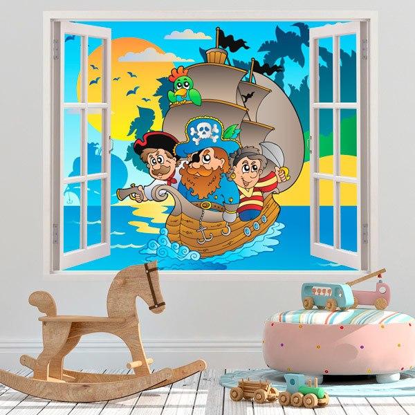Stickers pour enfants: arc en ciel