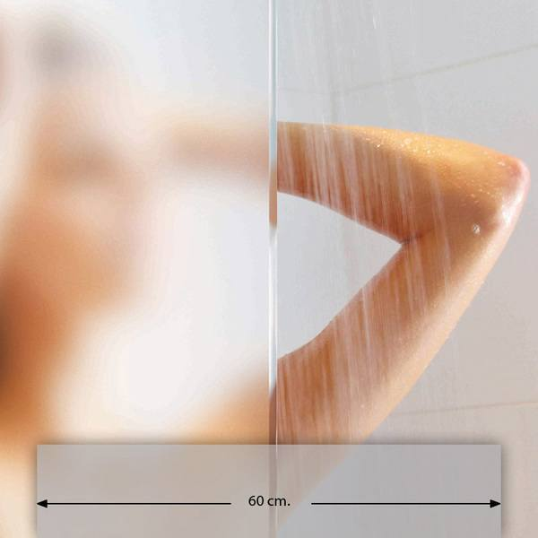 Stickers muraux: Film adhésif pour vitrage dépoli 60cm