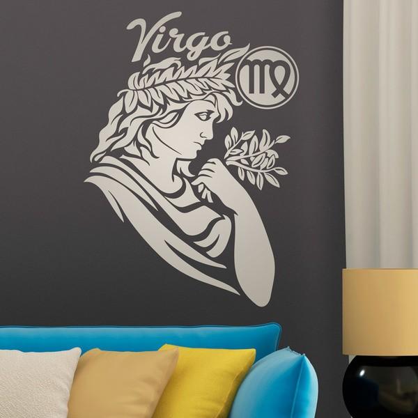 Stickers muraux: zodiaco 28 (Virgo)