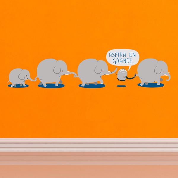 Stickers pour enfants: Aspira en Grande