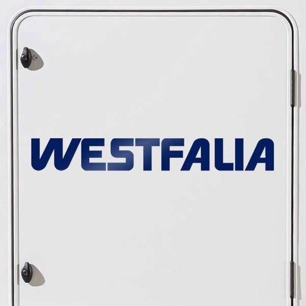 Autocollants: Westfalia 1