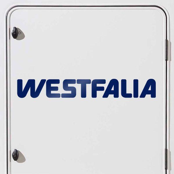 Autocollants: Westfalia 2