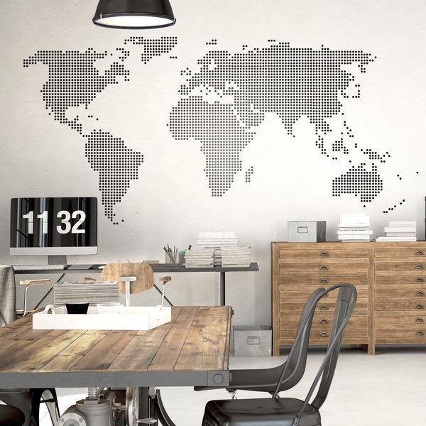 Stickers muraux: worldpoint