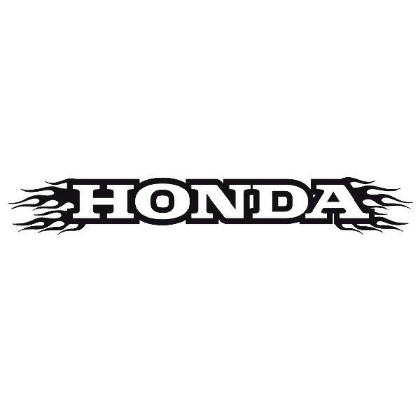 Autocollants: Parasol Honda