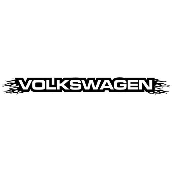 Autocollants: Parasol Volkswagen