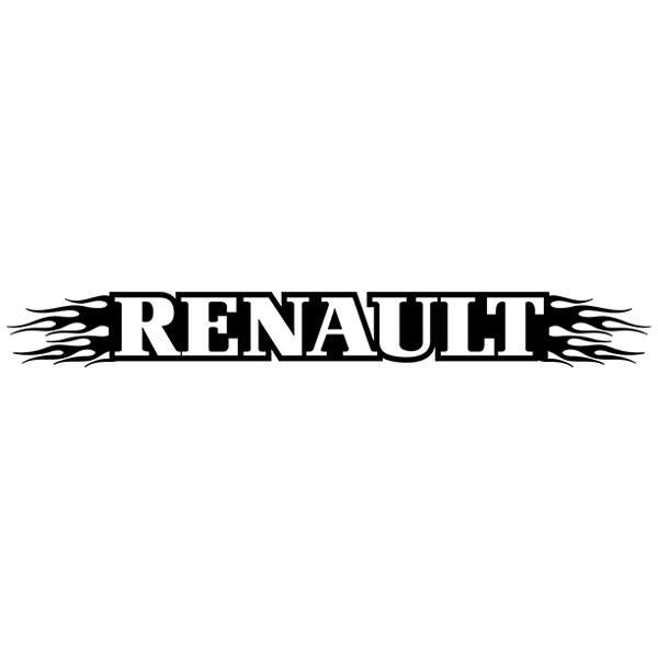 Autocollants: Parasol Renault