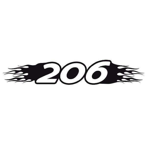 Autocollants: Parasol 206