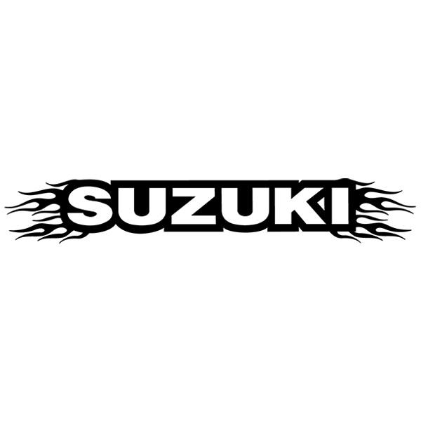 Autocollants: Parasol Suzuki
