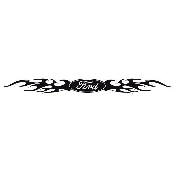 Autocollants: Parasol Ford Logo