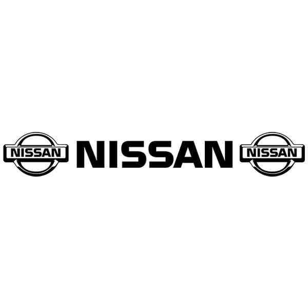 Autocollants: Parasol Logo Nissan