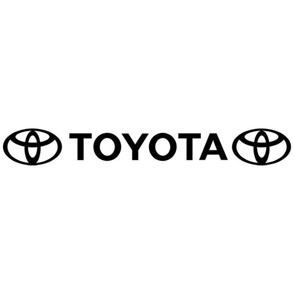 Autocollants: Parasol Logo Toyota