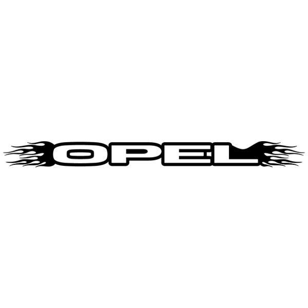 Autocollants: Parasol Opel