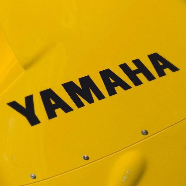 Autocollants: Yamaha