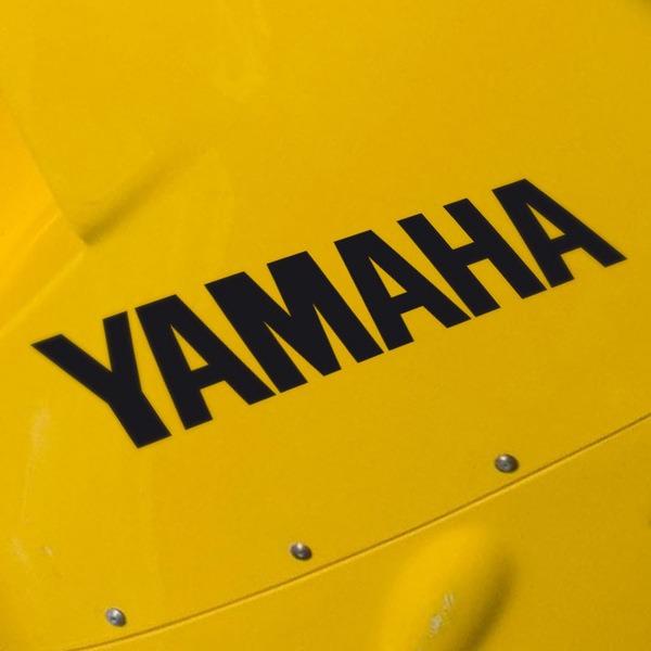 Autocollants: Yamaha II