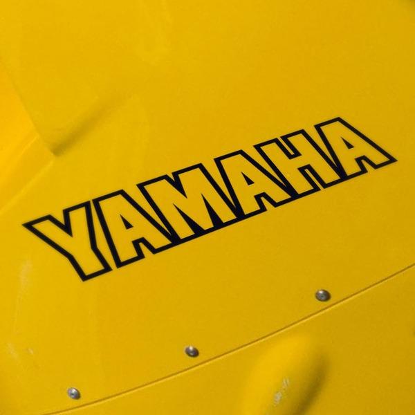 Autocollants: Yamaha V