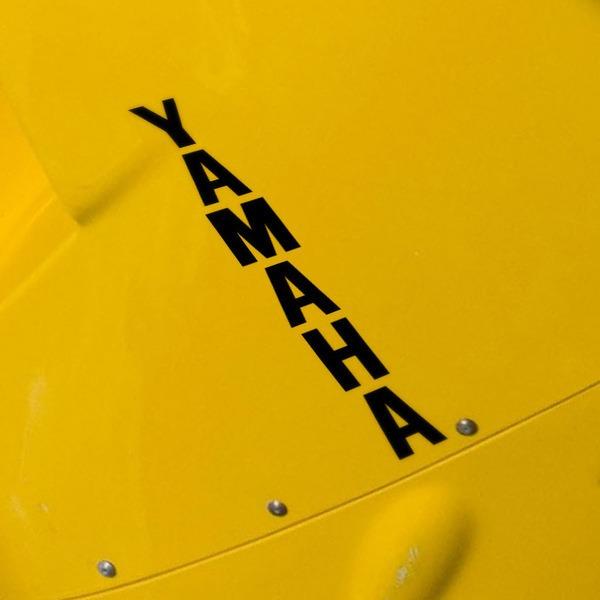 Autocollants: Yamaha vertical
