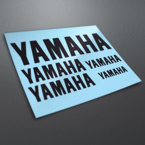 Autocollants: Kit Yamaha 1