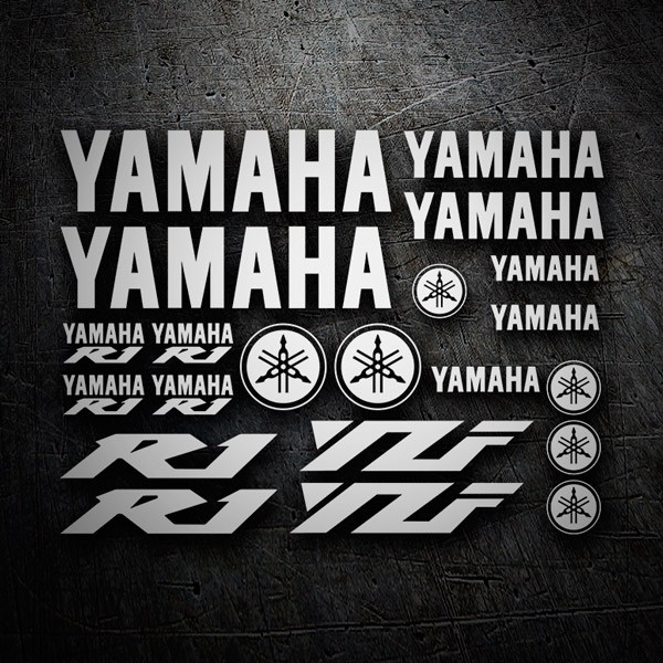 Autocollants: Yamaha R1