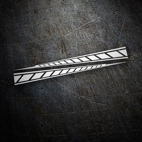 Autocollants: Yamaha M1 stripes