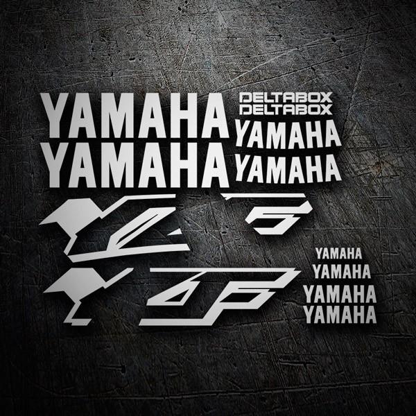 Autocollants: YZF 600 1997-01