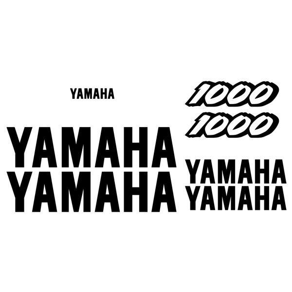 Autocollants: YZF 1000 1997