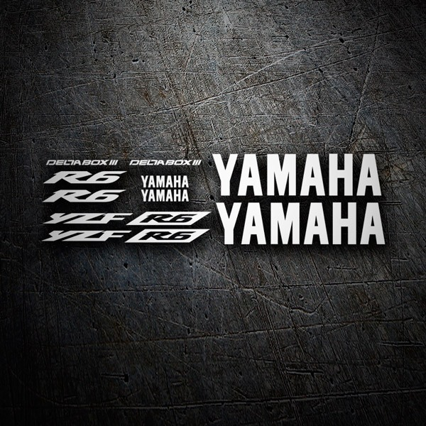 Autocollants: YZF R6 2003 II
