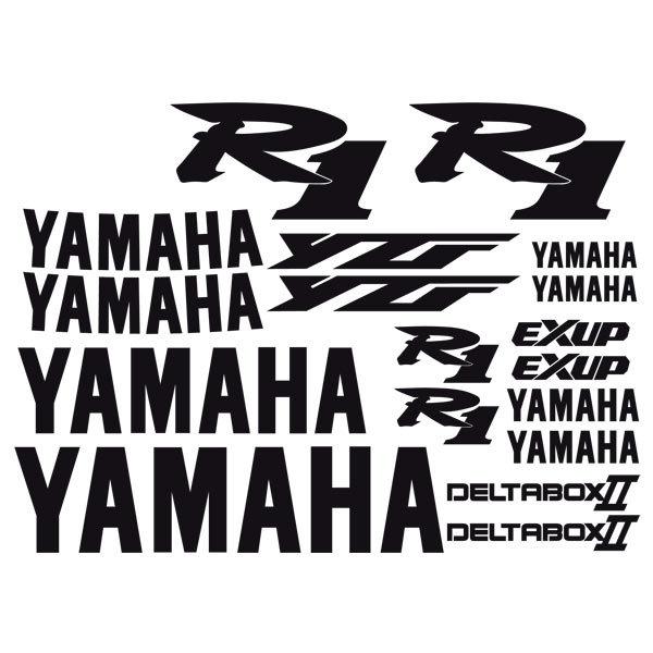 Autocollants: YZF R1 2000
