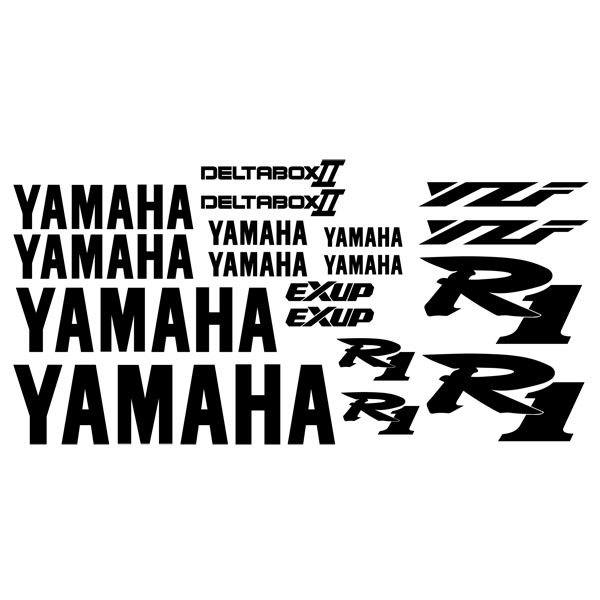 Autocollants: YZF R1 2001