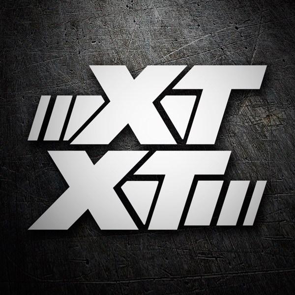 Autocollants: XT 600