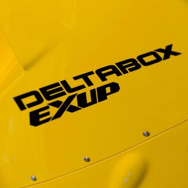 Autocollants: Deltabox Exup