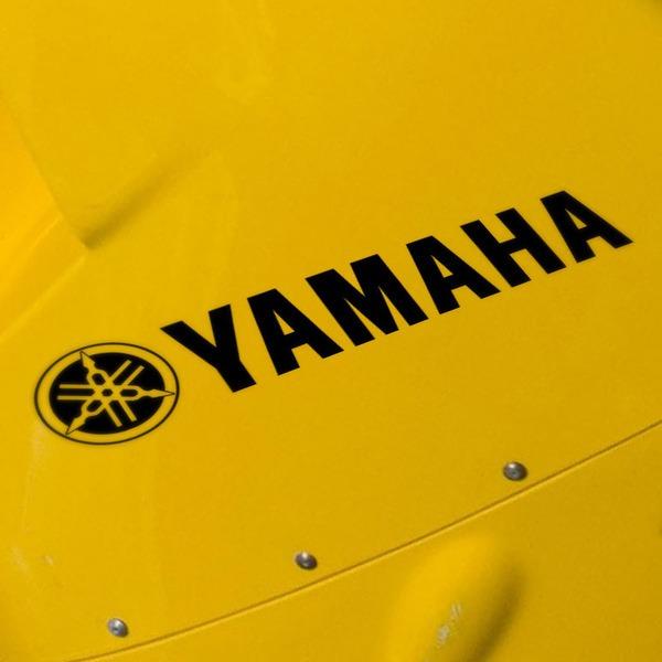 Autocollants: Logo + Yamaha