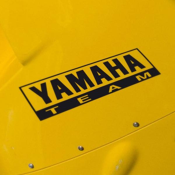 Autocollants: Yamaha Team