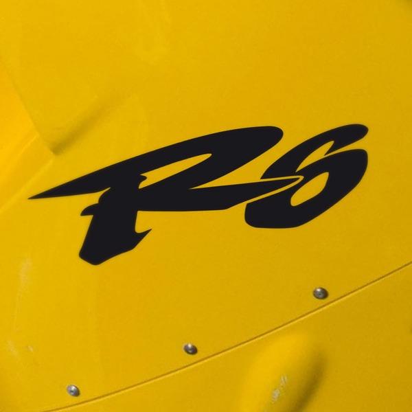 Autocollants: R6