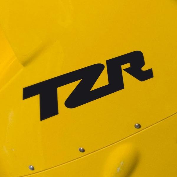 Autocollants: TZR