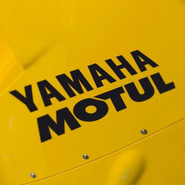 Autocollants: Yamaha Motul