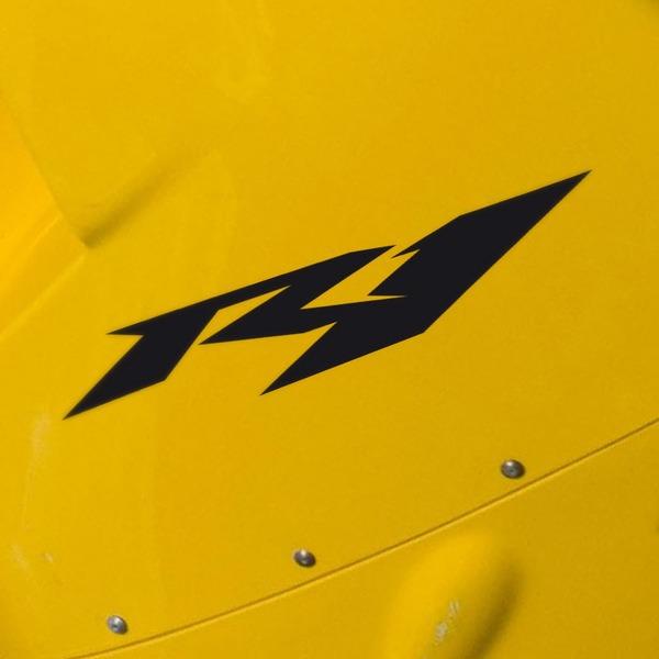 Autocollants: Yamaha Racing R1