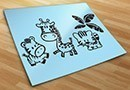 Stickers muraux top enfants