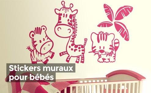 Stickers muraux pour chambre d enfant for Stickers om pour chambre
