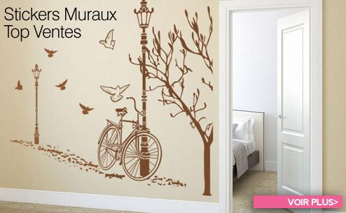 Stickers muraux, Papiers peints vinyles, Autocollants décoratifs