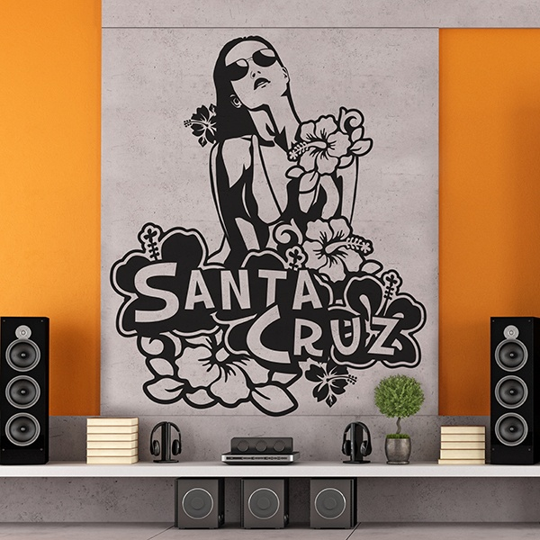 Stickers muraux: Santa Cruz