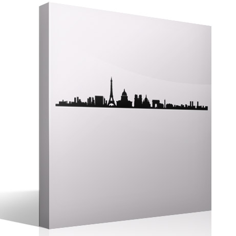 Stickers muraux: Paris Skyline