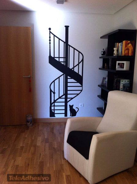 stickers muraux escalier en colima on. Black Bedroom Furniture Sets. Home Design Ideas