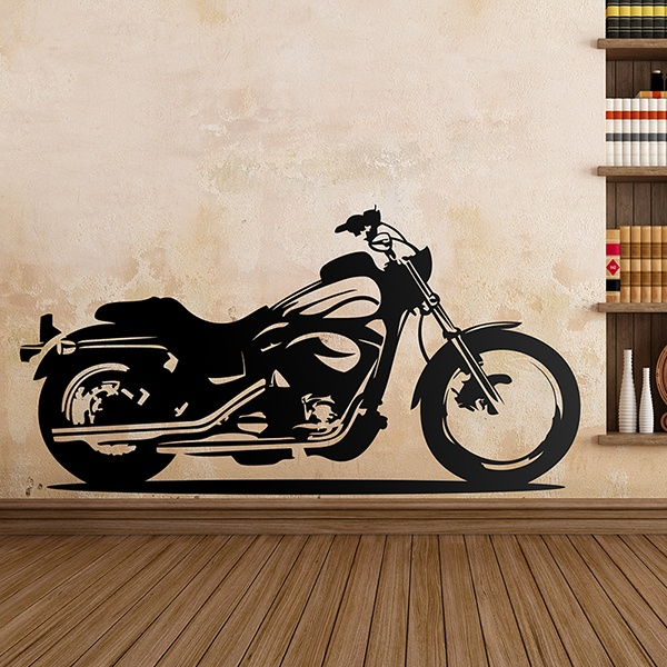Stickers muraux: Motorcycle Custom