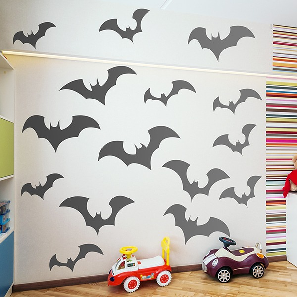 Stickers muraux: Bats